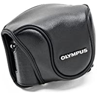 Olympus CSCH 118 - Camera case base for camera - leather - for Stylus 1, 1s
