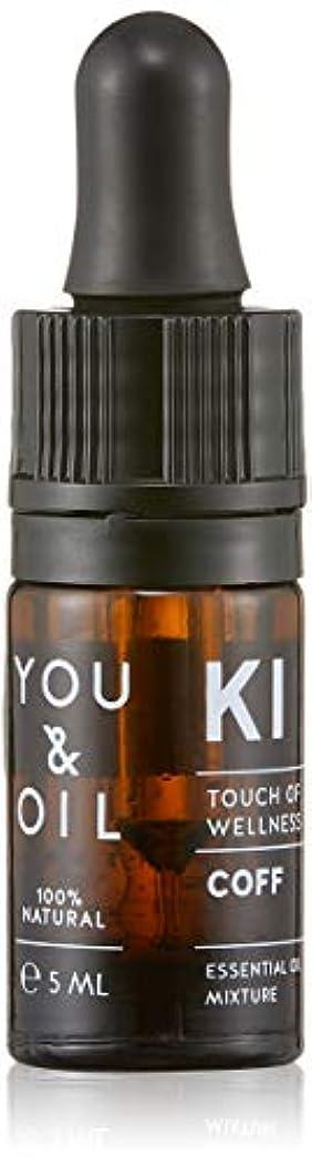 面白い病的テントYOU&OIL(ユーアンドオイル) ボディ用 エッセンシャルオイル COFF 5ml