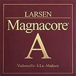 Larsen sc334212 チェロ弦 MAGNACORE マグナコア A弦 Medium 【バラ弦1本】 ラーセン