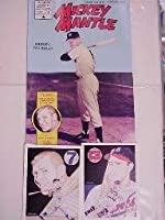 Mickey Mantle Comic Book Premiere Issue # 1mint W /カード