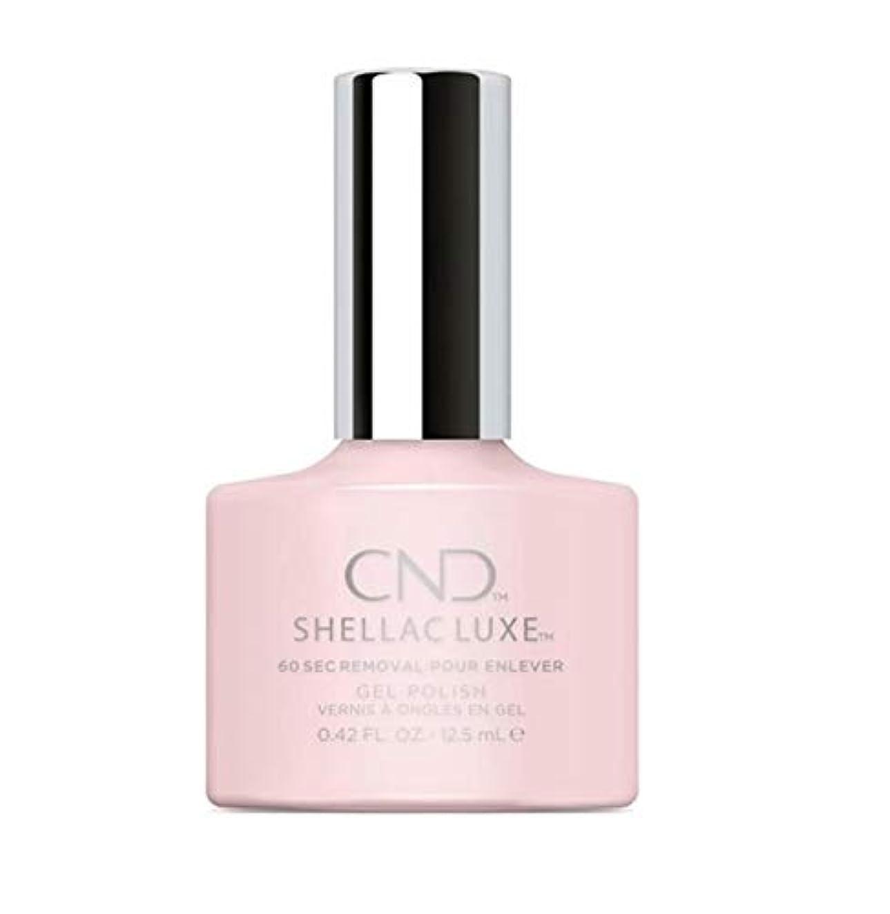 誠意給料会話CND Shellac Luxe - Negligee - 12.5 ml / 0.42 oz