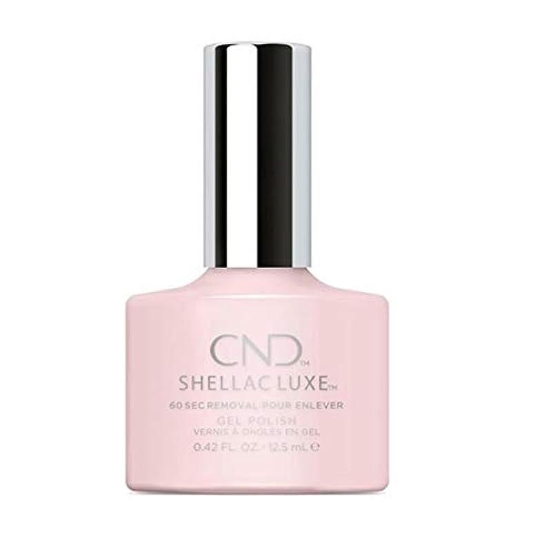 同封する傾向可能CND Shellac Luxe - Negligee - 12.5 ml / 0.42 oz