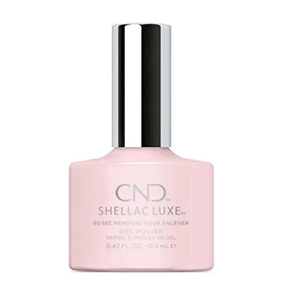 が欲しい失う認可CND Shellac Luxe - Negligee - 12.5 ml / 0.42 oz