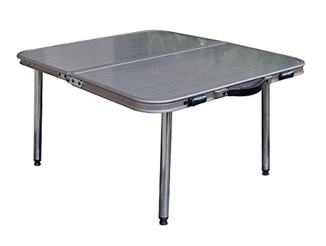 絶妙ケープ締め切りOnway (オンウェー) ステンローテーブル OW-6034 高品質薄型テーブル ロースタイル メタリック
