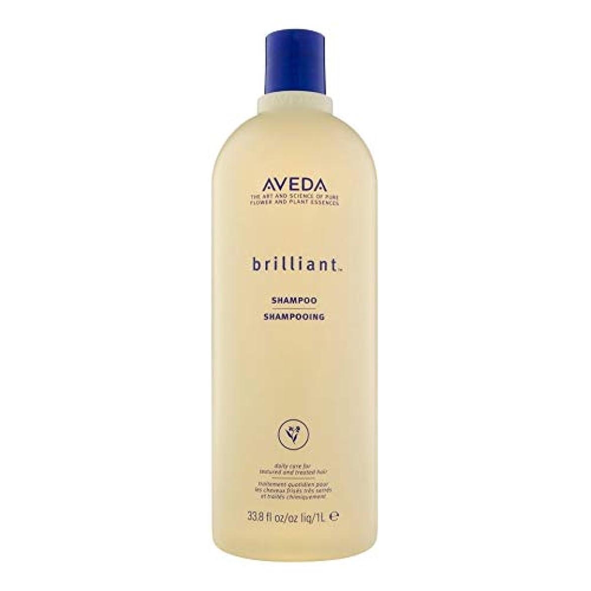 小包不幸広げる[AVEDA ] アヴェダ華麗なシャンプー1リットル - Aveda Brilliant Shampoo 1L [並行輸入品]