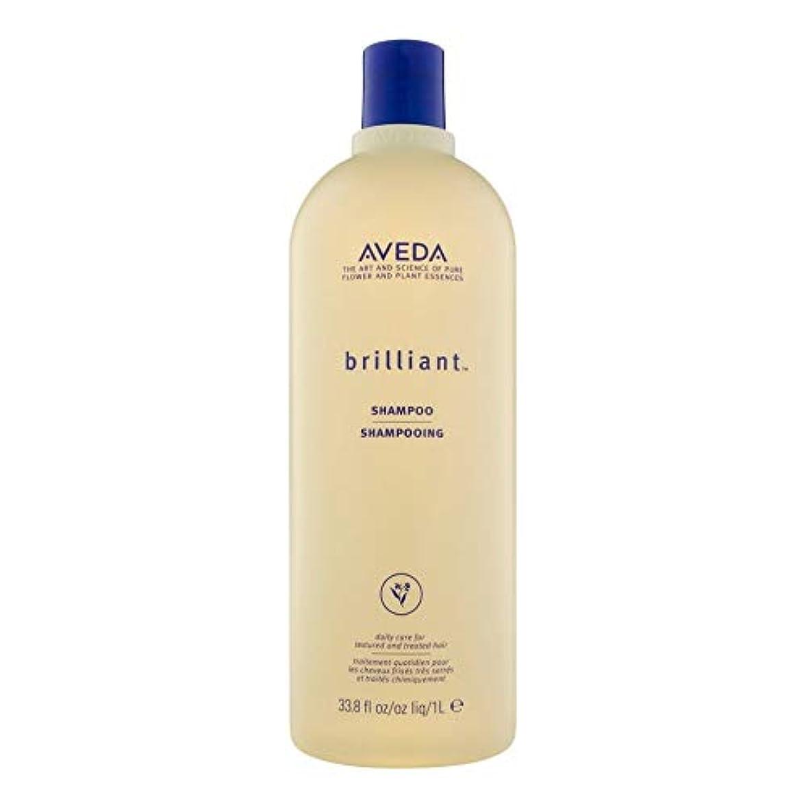 理容室クモ取り付け[AVEDA ] アヴェダ華麗なシャンプー1リットル - Aveda Brilliant Shampoo 1L [並行輸入品]
