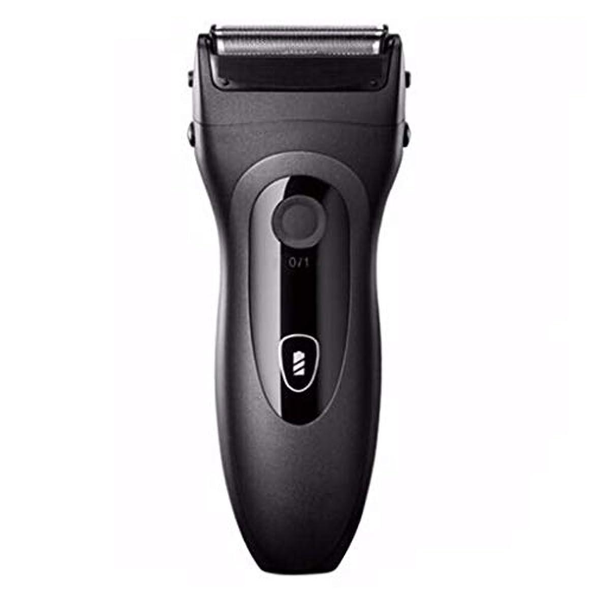 ぴったり適切にモンクひげそり 電動 メンズシェーバー,往復式 髭剃り 電気シェーバー USB充電式 IPX7防水 電気シェーバー ディスプレイ お風呂剃りドライ両用 人気プレゼント