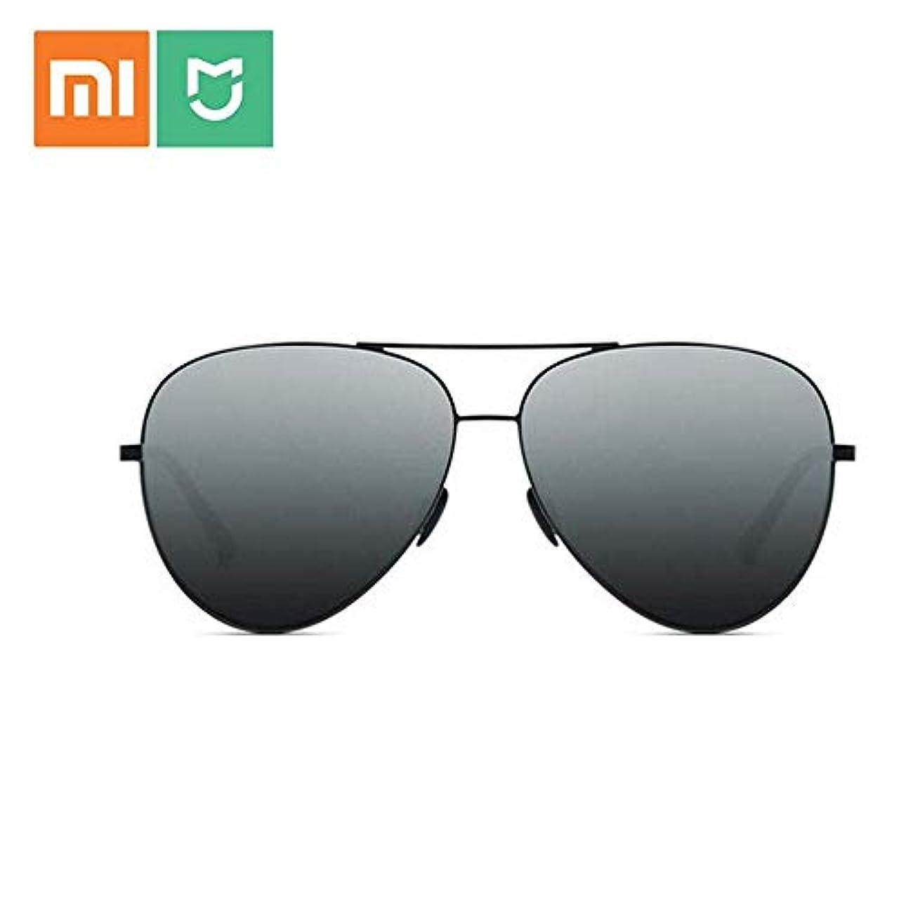 XiaomiサングラスUV400 TS偏光レンズ6層偏光フィルムメガネ