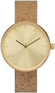 [アナログウォッチコー] 腕時計 ソムリエ シャルドネ コルクバンド 正規輸入品 (ブラウン)