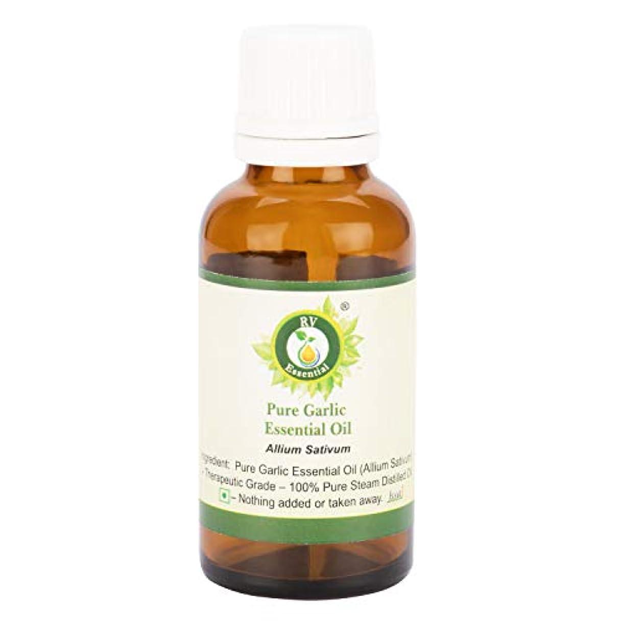 表向き政策シリングピュアニンニクエッセンシャルオイル100ml (3.38oz)- Allium Sativum (100%純粋&天然スチームDistilled) Pure Garlic Essential Oil