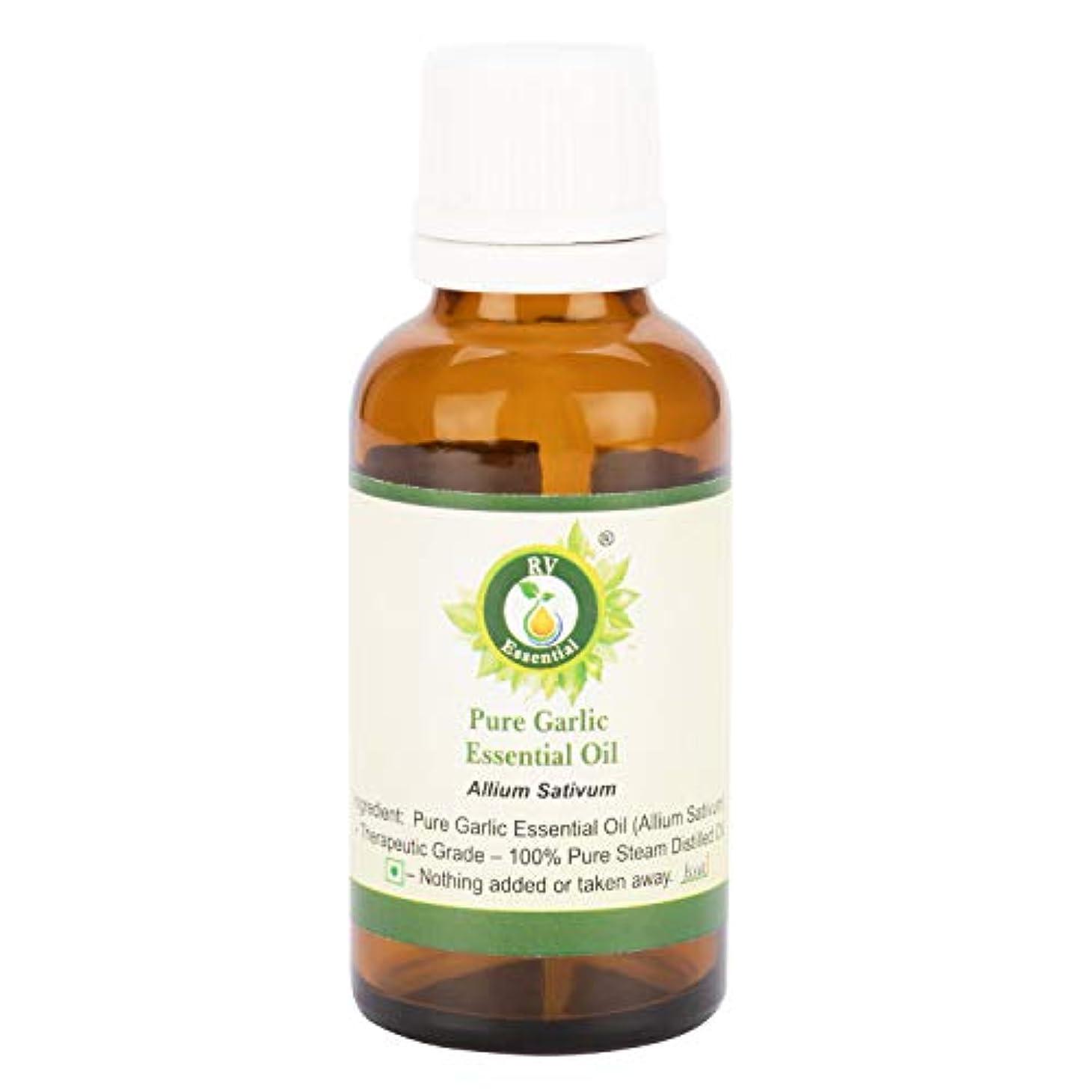 甘くするの量掃除ピュアニンニクエッセンシャルオイル100ml (3.38oz)- Allium Sativum (100%純粋&天然スチームDistilled) Pure Garlic Essential Oil