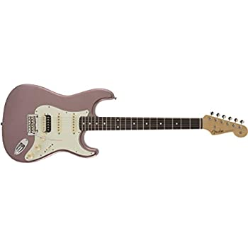 Fender エレキギター MIJ Hybrid 60s Stratocaster HSS, Burgundy Mist Mettalic