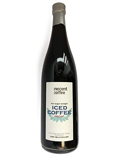 カフェインレスコーヒー アイスコーヒー デカフェ 720ml コロンビア産 スペシャルティコーヒー