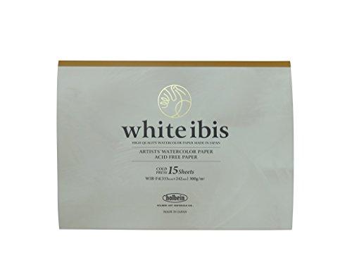 ホルベイン 水彩紙 ホワイトアイビスブロック WIB-F4