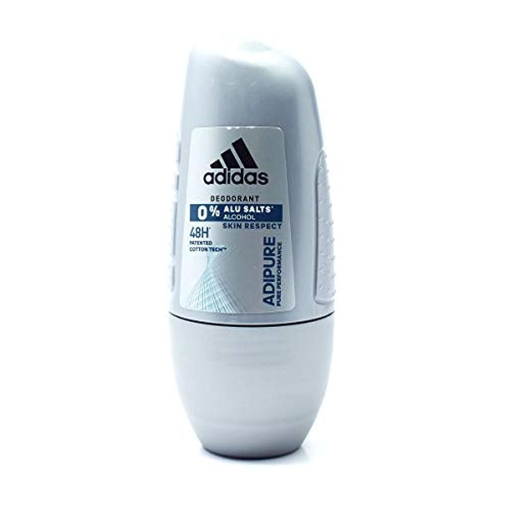 受け入れた乳剤適応するAdidas Roll On 50ml ADIPURE アディダス デオドラント ロールオン 50ml アディピュア 制汗剤 48時間持続 日本未発売 並行輸入