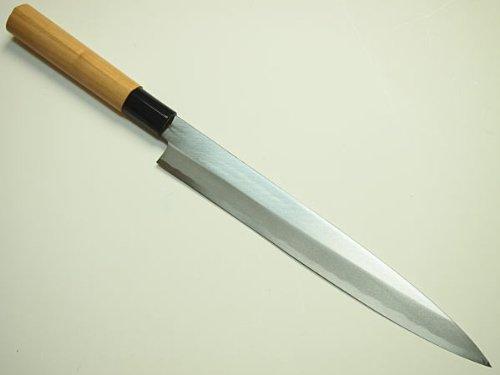 刺身包丁 240mm 青紙二号 桜柄 柳刃包丁