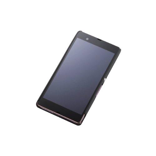 エレコム SO-02E用シェルカバー ラバー ブラック PD-SO02PVRBK ELECOM