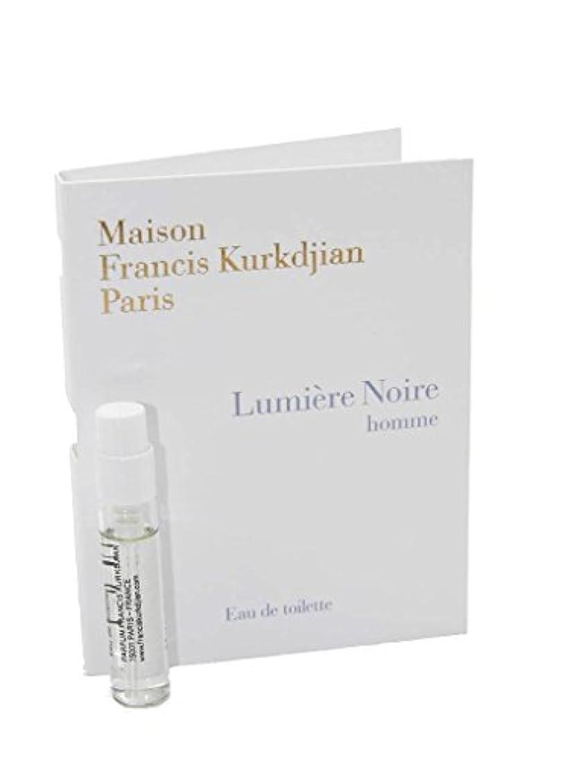 サスペンド鎮静剤証書Maison Francis Kurkdjian Lumiere Noire Homme EDT Vial Sample 2ml(メゾン フランシス クルジャン ルミエール ノワール オム オードトワレ 2ml)[海外直送品...