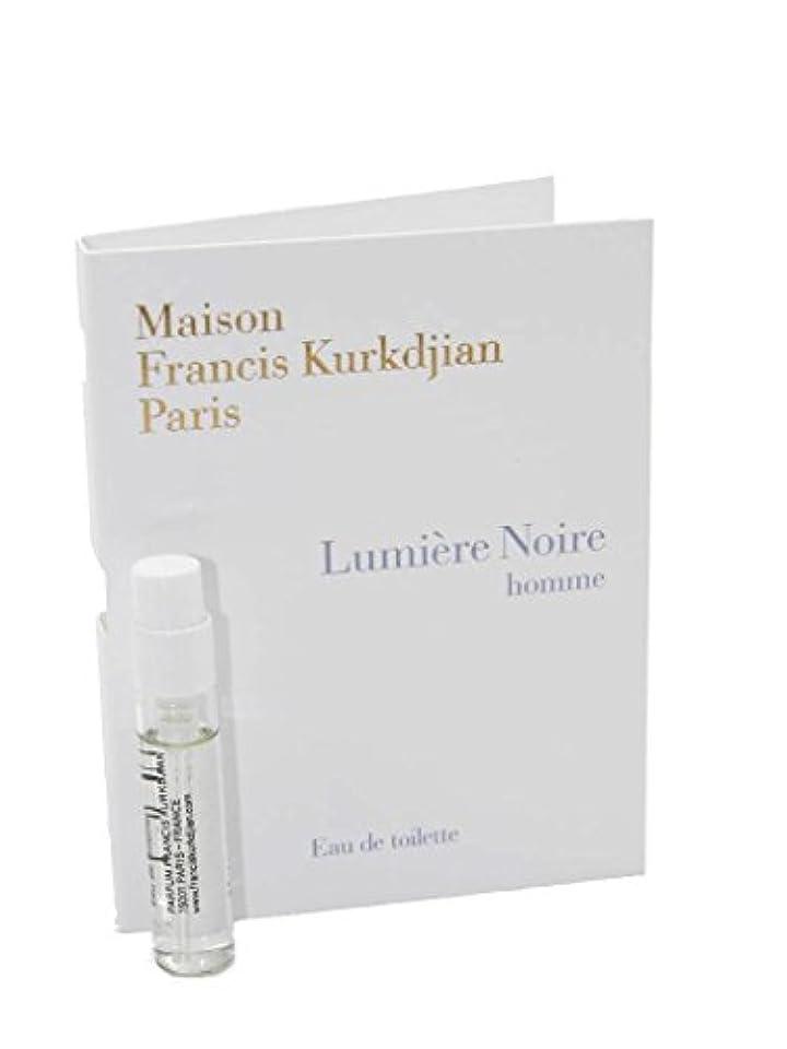 苦しめるハイランド一月Maison Francis Kurkdjian Lumiere Noire Homme EDT Vial Sample 2ml(メゾン フランシス クルジャン ルミエール ノワール オム オードトワレ 2ml)[海外直送品] [並行輸入品]