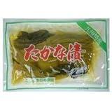 たかな漬 250g×6袋 ふじさき漬物舗 九州名産の高菜を丸ごと醤油に漬け込んだお漬物 大きいままおにぎりに巻いて、刻んでチャーハンやラーメンの具に