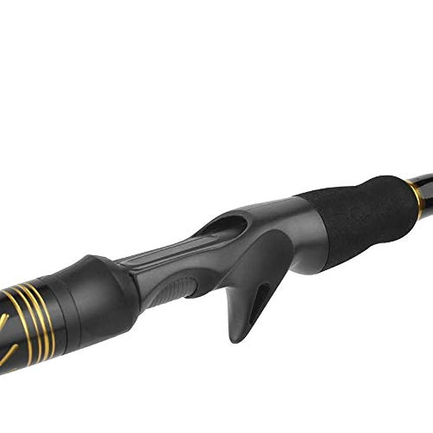 望ましい分析的なヒューズLWSJP 釣り竿 釣りロッド 耐久性 初心者 釣り 便利 伸縮可能 操作簡単 フィッシングロッド (Color : Gun Handle, Size : 2.1)