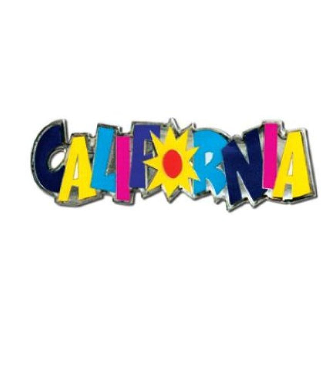 カラフルなCalifornia Signラペルピン