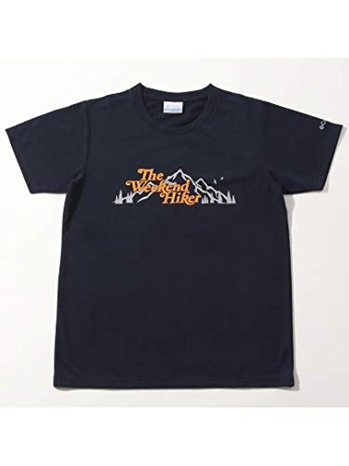 特派員鮮やかな新鮮な[コロンビア] レディース レモンマウンテンショートスリーブTシャツ Lemmon Mountain Women's Short Sleeve Tee カレッジエイトネイビー