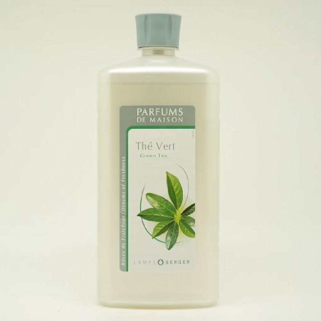 州シャンプーキャラバンランプベルジェ アロマオイル 緑茶 1L