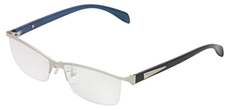 ReD(レッド) 老眼鏡 リーディンググラス 度数 +3.00 CLAW シルバー