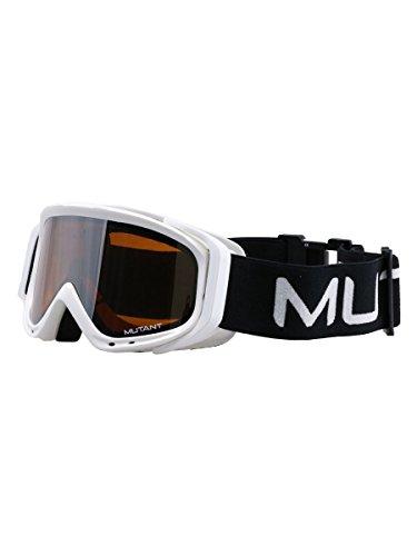 (ミュータント) MUTANT ジュニア スキー スノーボード ゴーグル 眼鏡対応GOGGLE M3001-WMD WHT