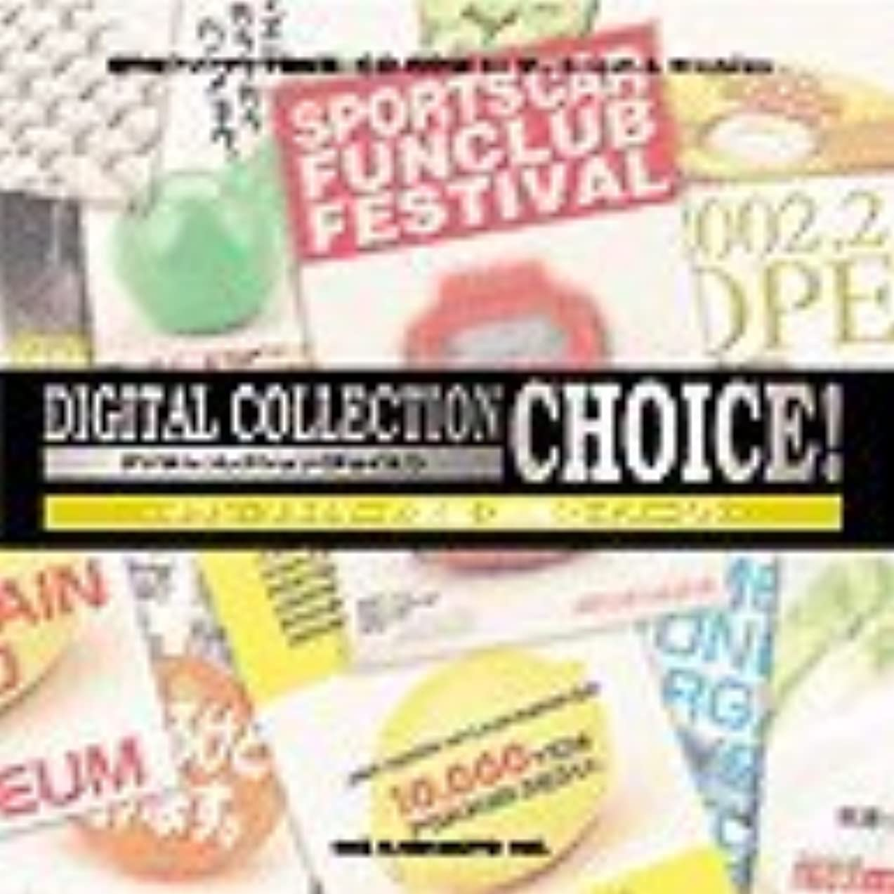 発疹区別びっくりしたDigital Collection Choice! チラシ?フライヤーの素編 「俯瞰のイメージ」