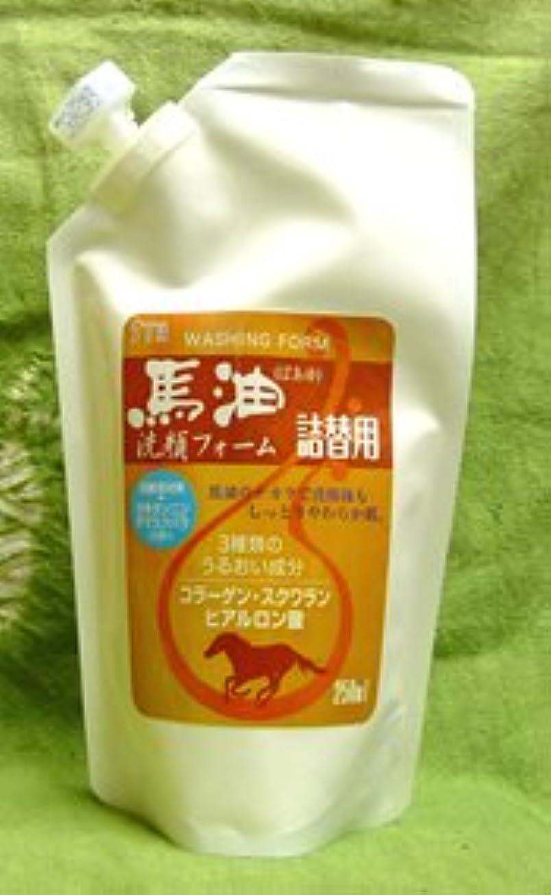 ミルク自己尊重スカート馬油洗顔フォーム詰替用250ml×8