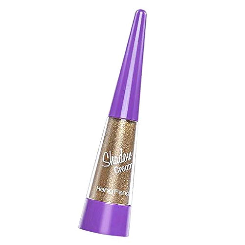 信念コークス流暢光沢のあるパール光沢のメイクアップアイシャドーグリッター液体のアイシャドウの美しさツール - 12