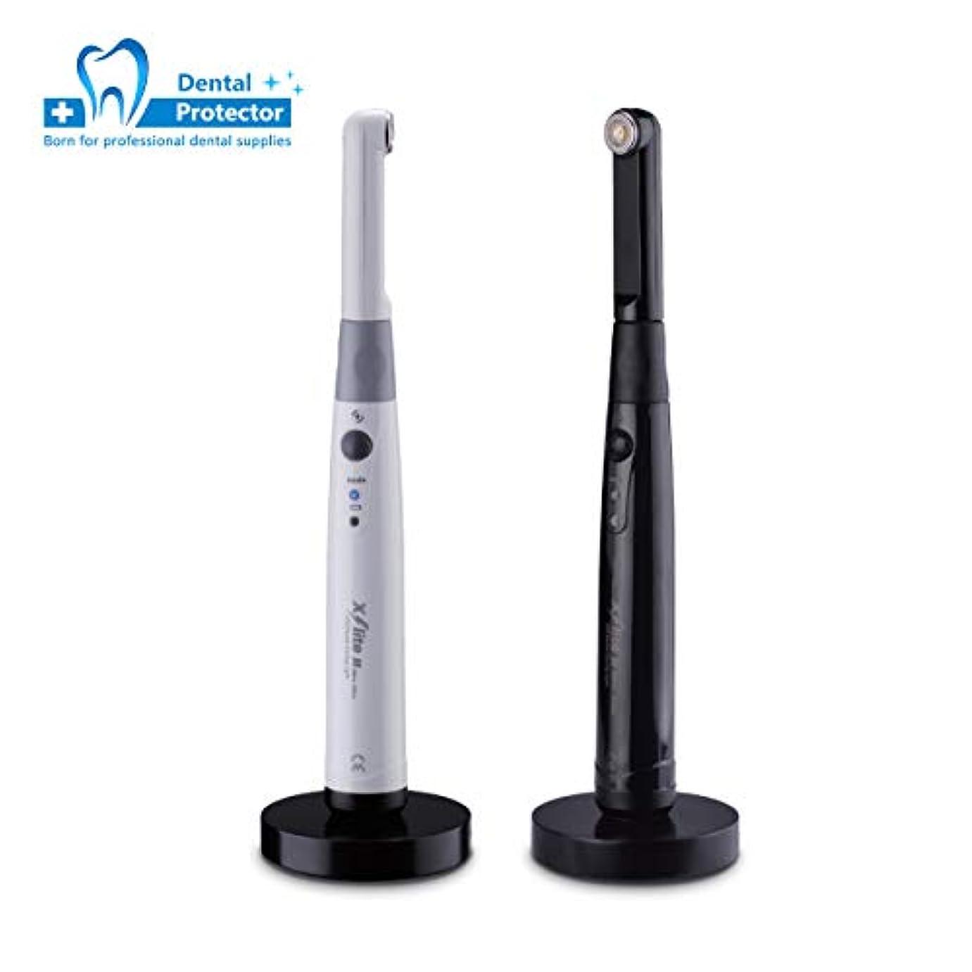自体不機嫌そうな教育者歯科のための3H X-lite 2歯科LEDライト治療ランプ機械無線電信1700 mwの白