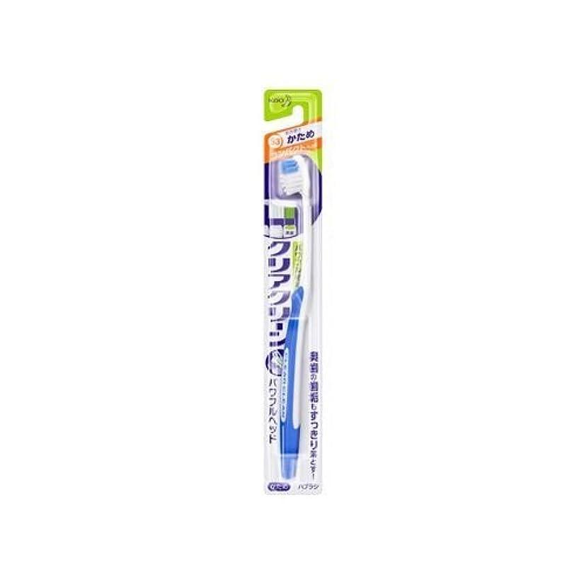 安全消毒剤のスコア【まとめ買い】クリアクリーンブラシパワフルヘッドH かため 1本 ×2セット