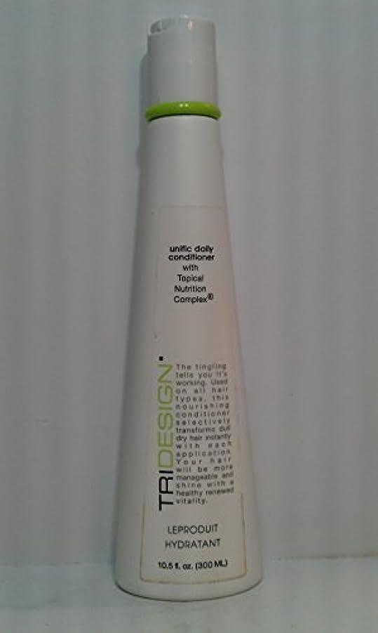 クライマックス航空機別々にTri Hair - Institute of Trichology トライデザイン統一的デイリーコンディショナー、10.5オンス