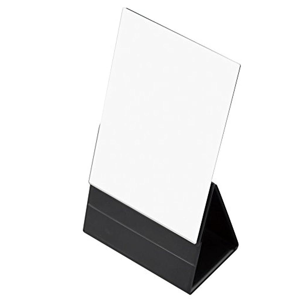 イブオフセット光景ナピュアミラー プロモデル折立ナピュアミラープレミアムLL ブラック AM-34