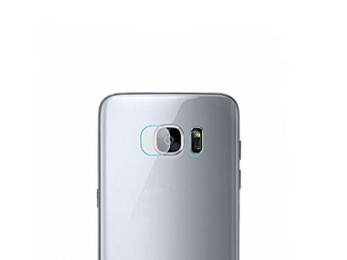 Xberstar Samsung Galaxy S7 edge カメラレンズ&フラッシュ用強化ガラス保護フィルム
