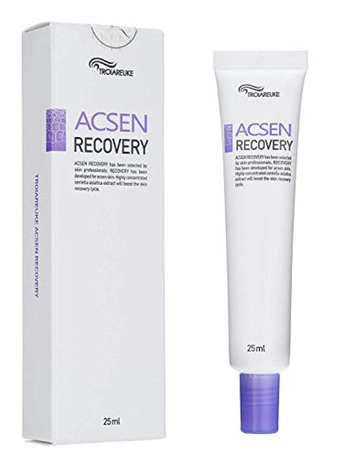 パーティション雪だるまトランスペアレントTROIAREUKE(トロイアルケ) アクセン リカバリー クリーム/Acsen Recovery Cream(25ml) [並行輸入品]