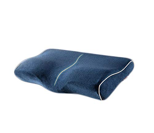 枕 低反発枕 健康枕 50x30x6-10cm 肩こり対策 通気性抜群 ストレス解消 圧力分散 頚椎サポート 快眠枕