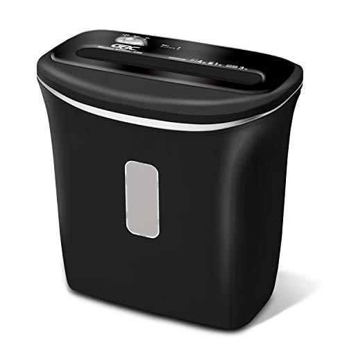 GBC シュレッダー 家庭用 スモールオフィス用 マイクロカット プラスチックカードも細断 ホチキス対応 小型 コンパクト 電動 ブラック GSHA26M-B