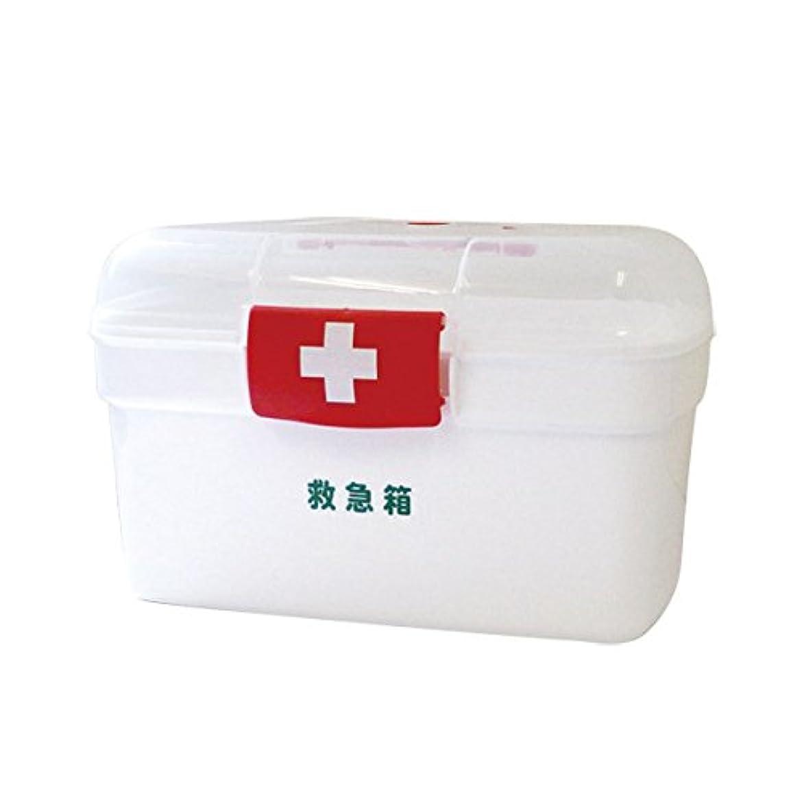 冷ややかな分数不格好リーダー ポリ救急箱セット Lサイズ 782499