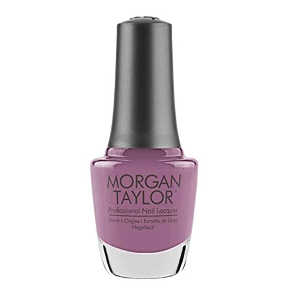 ショートカットリスキーな厚さMorgan Taylor Nail Lacquer - Merci Bouquet - 15 ml / 0.5 oz