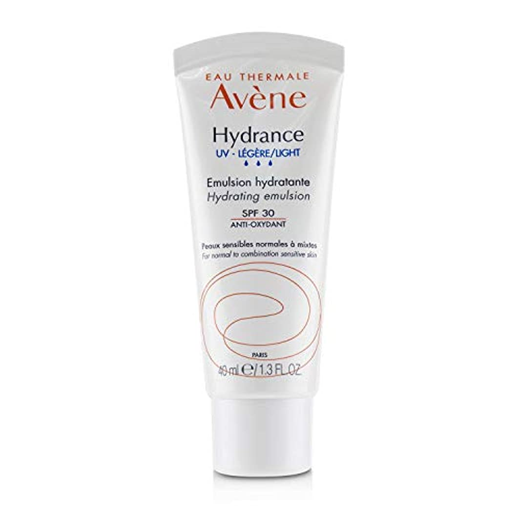 シマウマ注釈を付ける窓を洗うアベンヌ Hydrance UV LIGHT Hydrating Emulsion SPF 30 - For Normal to Combination Sensitive Skin 40ml/1.3oz並行輸入品