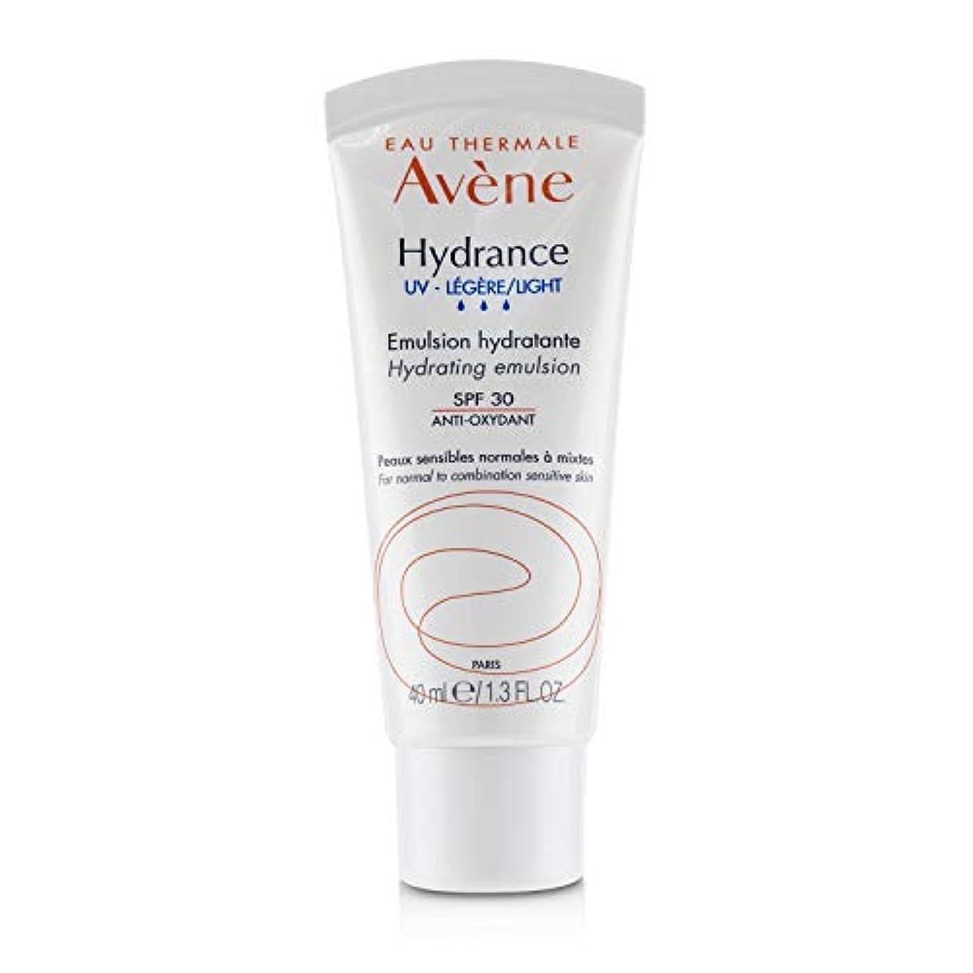 肺炎検出器病的アベンヌ Hydrance UV LIGHT Hydrating Emulsion SPF 30 - For Normal to Combination Sensitive Skin 40ml/1.3oz並行輸入品