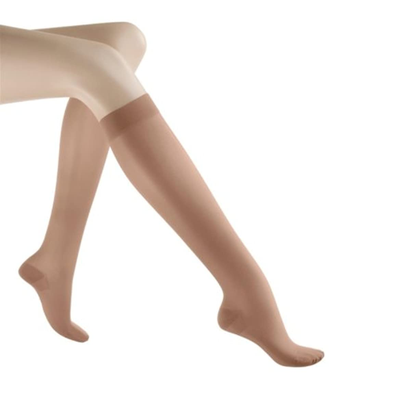 パラメータプレビスサイト送金Mediven Sheer and Soft Calf Length, Closed Toe, 20-30 mmHg, III, Natural, 1/Pair, MDV43003 by Medi