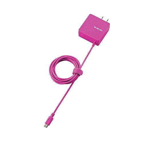 エレコム スマートフォン・タブレット用AC充電器(micro-B) 1.5m ピンク MPA-ACMBC154PN
