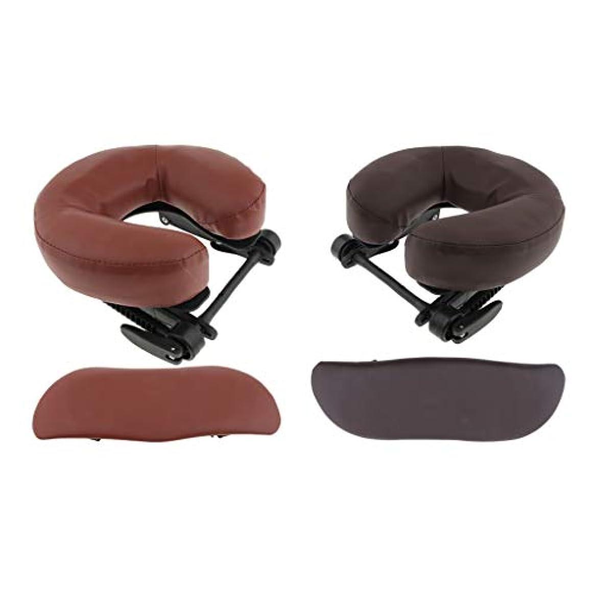 石膏不確実退屈なsharprepublic マッサージ テーブル 枕クッション U字型 完璧な アクセサリー 実用性