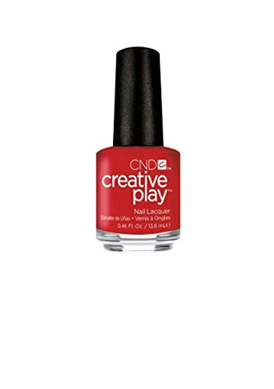 些細ちっちゃいただやるCND Creative Play Lacquer - Red-y to Roll - 0.46oz / 13.6ml