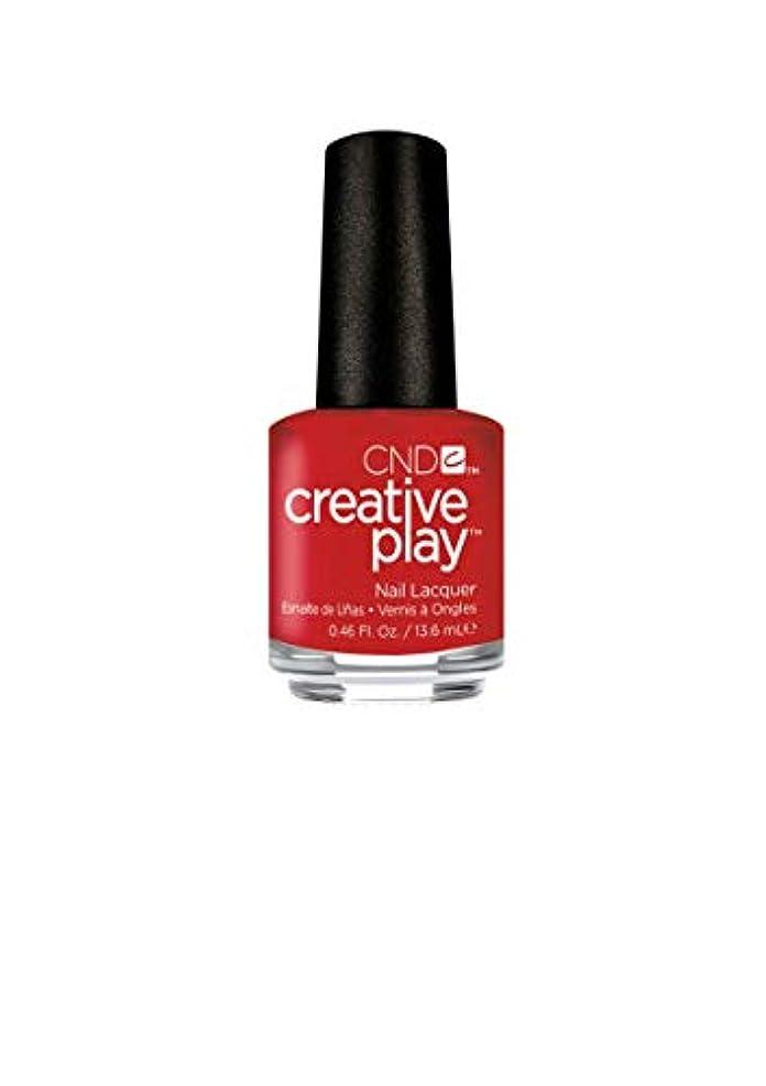 発音空虚完璧CND Creative Play Lacquer - Red-y to Roll - 0.46oz / 13.6ml